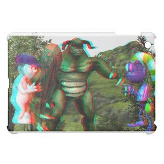 iPad 1 Case 3D Troll Fight iPad Mini Cover