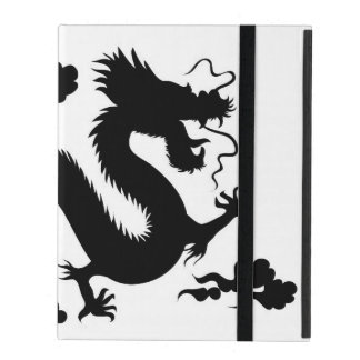 iPad 2/3/4 Case with No Kickstand w/dragon