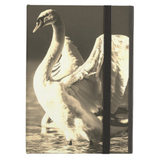 iPad Air Case with No Kickstand With Swan