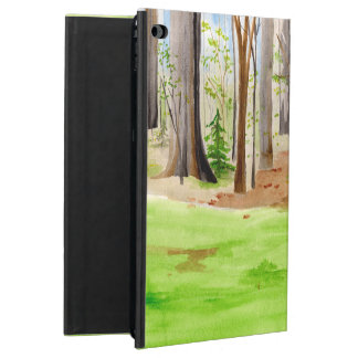 Ipad air case with trees