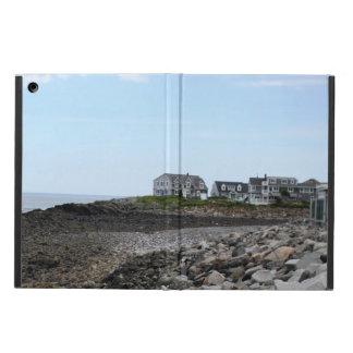 iPad Air PHOTOGRAPH OF HOUSES ON BEACH iPad Air Cases