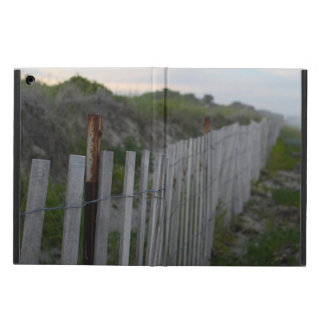 iPad Air PHOTOGRAPH OF MAINE BEACH FENCE 3 iPad Air Cases