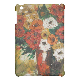 Ipad Case Ann Hayes Painting Red Flowers Mixed