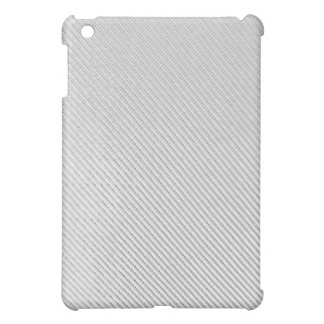 iPad Case - Carbon Fiber - White