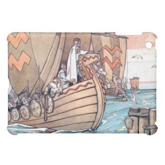 iPad Case: Estonian Vikings at Harbour Cover For The iPad Mini