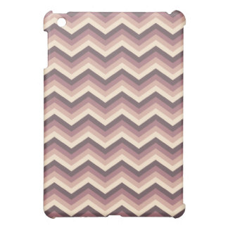 iPad Case Purple Zig Zag Pattern