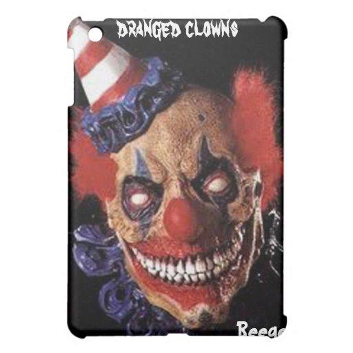 IPad Case - Scary Birthday Clown (dranged clowns)