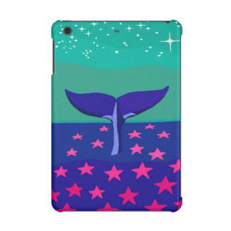 iPad case with beautiful picture of whale