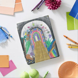 iPad Cover - colorful pencil design