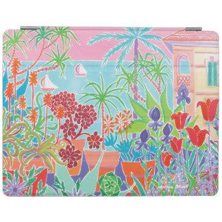 iPad Cover Joanne Short French Garden Flowers