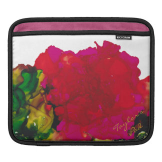 "IPad Cover ""Magenta Flower"""