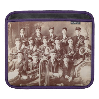 iPad cover, Russell Cornet Band, Minnesota, 1908. Sleeves For iPads