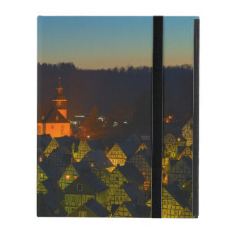 iPad covering Freudenberg old part of town iPad Case