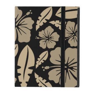 Ipad Flores Negras of the Havai iPad Folio Case