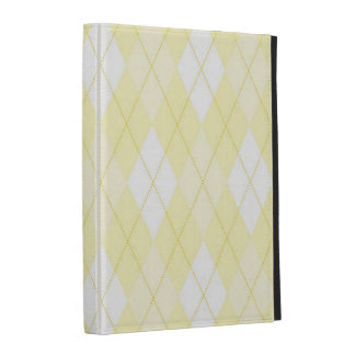 iPad Folio Case - Diamond Argyle - Sunshine