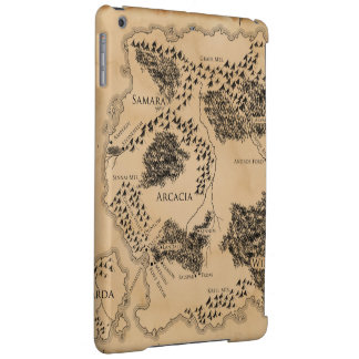 iPad Ilyon Chronicles Map Case Cover For iPad Air