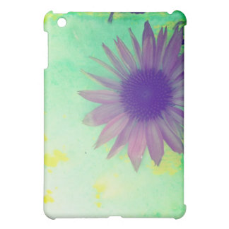 ipad mini case, flower, pink cone flower iPad mini covers