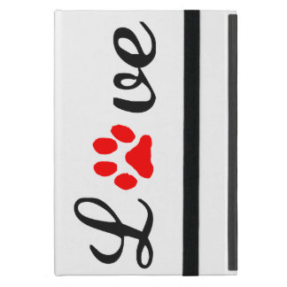 iPad Mini Case love pets