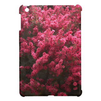 iPad Mini Case - Red Flowers in Spring