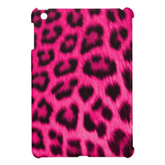 iPad Mini Case Wild Hot Pink Leopard Skin