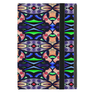 Ipad mini case with a pretty design.