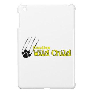 iPad Mini - Caution Wild Child Cover For The iPad Mini