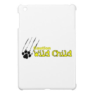 iPad Mini - Caution Wild Child iPad Mini Cover
