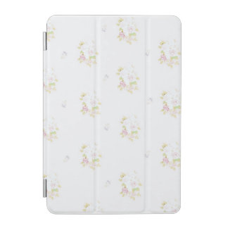 IPad mini cover of faint rose and forget-me-not
