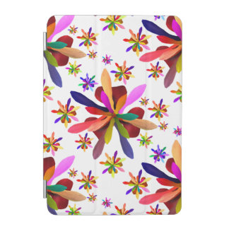 iPad mini Cover with Stylized Flower 1
