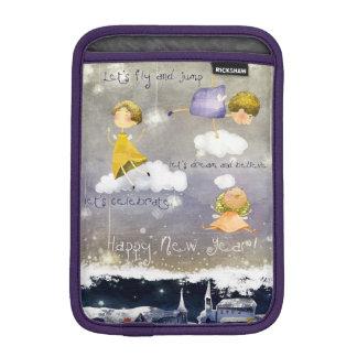 iPad Mini Fairies celebrate the New Year iPad Mini Sleeve