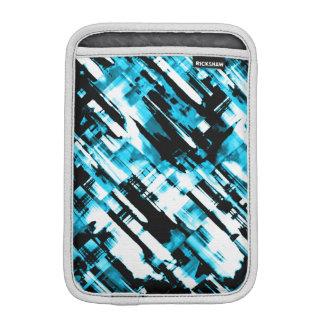 iPad Mini Sleeve Blue Black digitalart G253