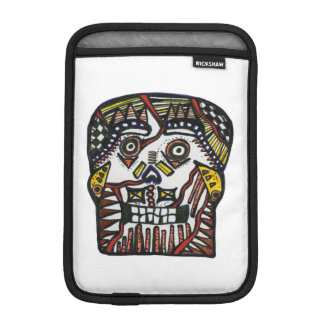 Ipad Mini Vertical Sleeve Skull Day of the Dead iPad Mini Sleeves