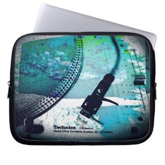 "ipad or 10"", 13"", 15"" laptop case, turntable art laptop sleeve"