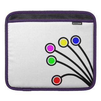 iPad pad Horizontal  - Dandy Dots iPad Sleeves