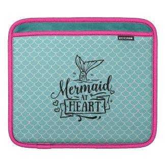 iPad Pad - Mermaid at Heart Sleeve For iPads
