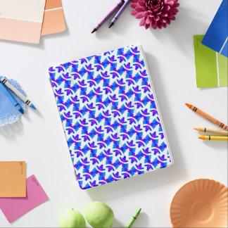 IPAD PRO case Jimette Design white blue purple iPad Cover