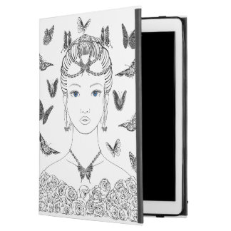 "iPad Pro sleeve with butterflies iPad Pro 12.9"" Case"