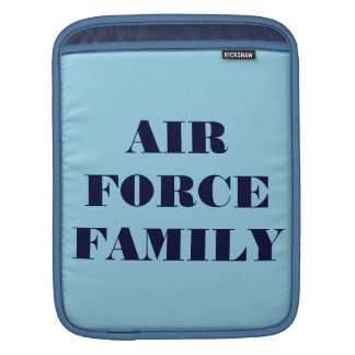 Ipad Sleeve Air Force Family