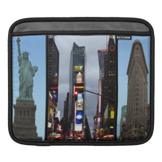 iPad Sleeve New York Landmarks Souvenir
