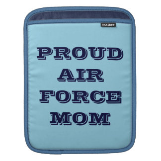 Ipad Sleeve Proud Air Force Mom