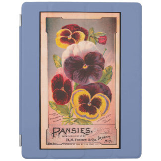 iPad Smart Cover PANSIES FOR GARDENERS iPad Cover