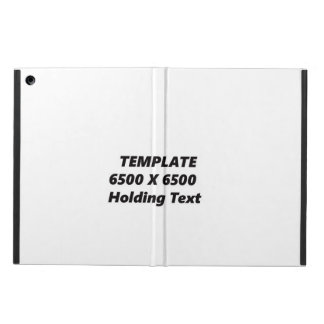 IPAD STAND NO KICK HORIZ TEMPLATE CASE FOR iPad AIR