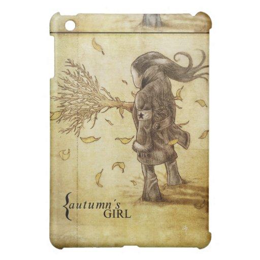 iPad_vertical_autumns-girl Coques Pour iPad Mini