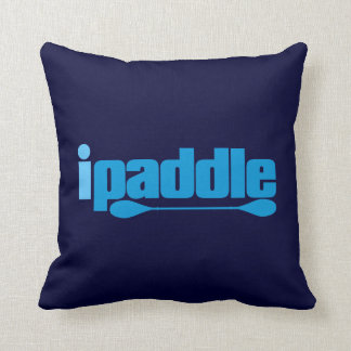 ipaddle throw pillow