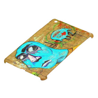 IpadMini  Exclusive Art Street Love on the Wall Case For The iPad Mini