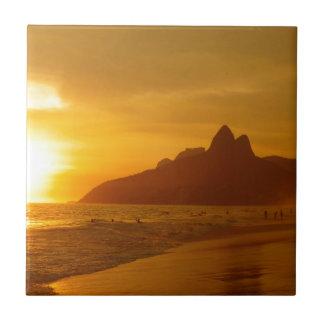 Ipanema beach tile