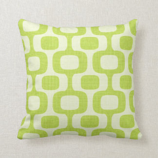 Ipanema Pillow-Verde Throw Pillow