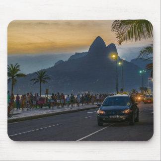 Ipanema Sidewalk Rio de Janeiro Brazil Mouse Pad