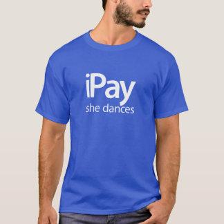 iPay She Dances - Blue Tee