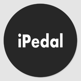 iPedal Classic Round Sticker